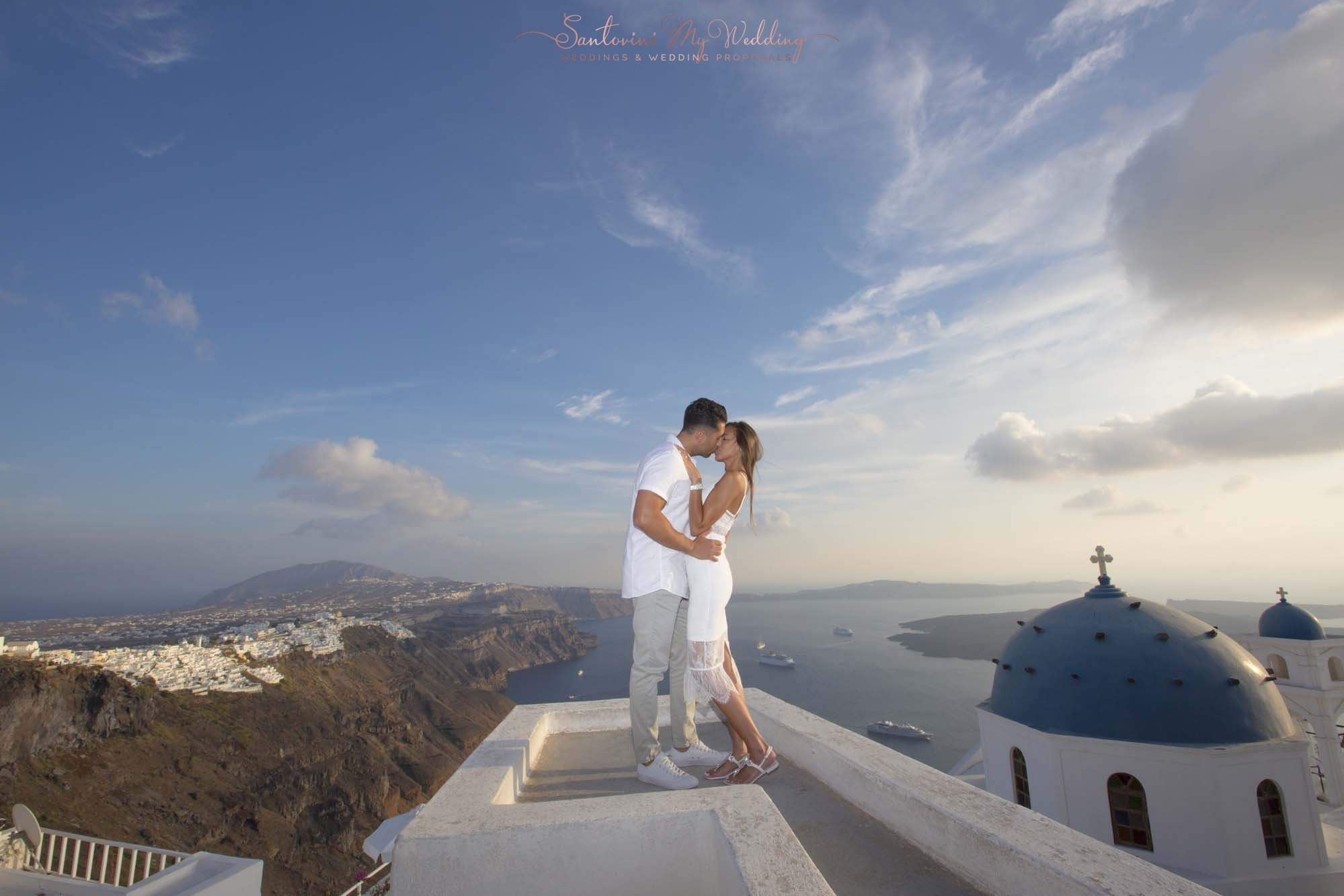 Honeymoon on Santorini 1