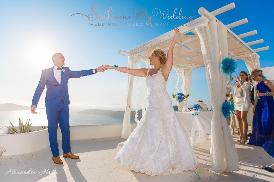 Andromeda Santorini Wedding 1