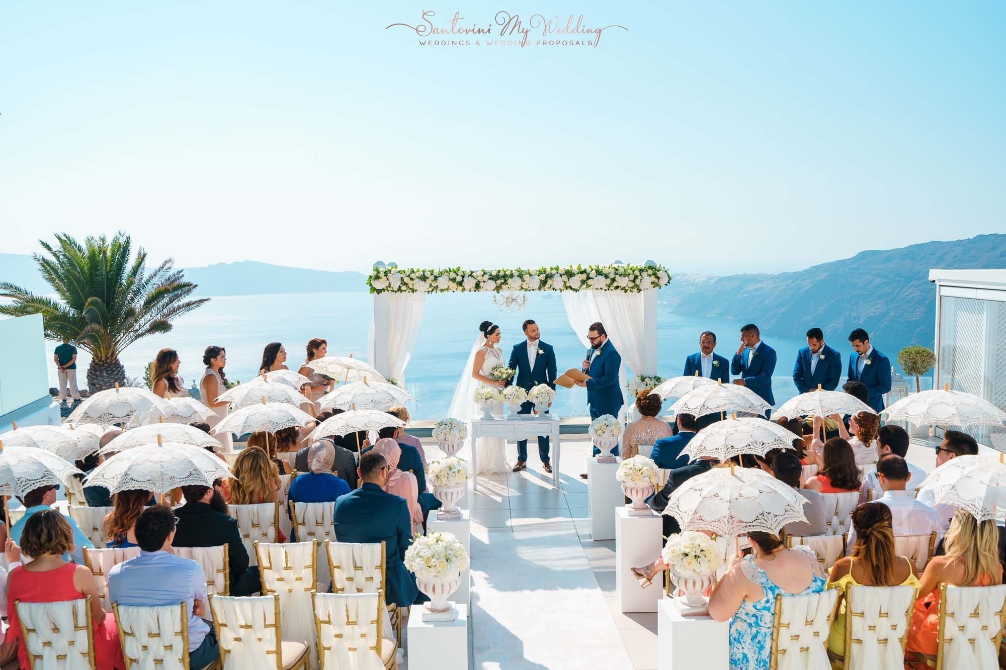 Le Ciel | Le Ciel santorini wedding cost