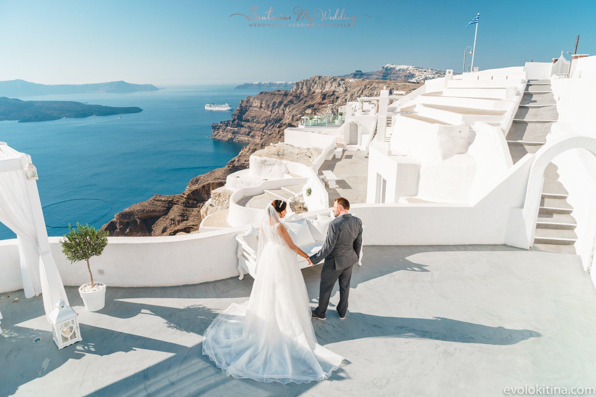 Santa Irini Santorinimywedding
