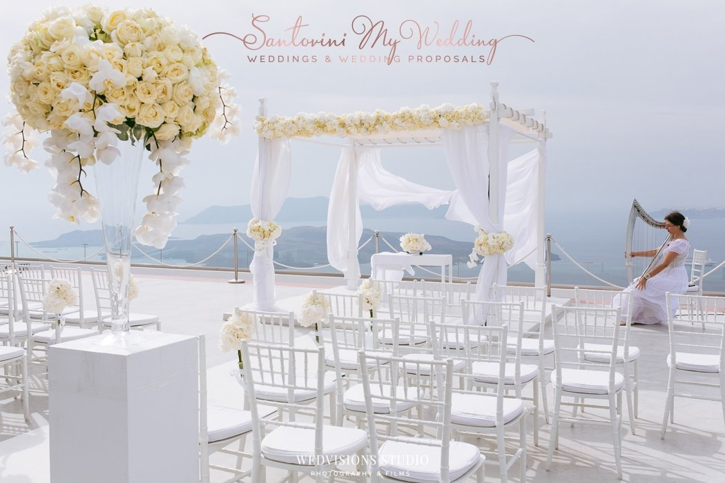 Santorini wedding cost? What does it cost to get married in Santorini Greece? 1