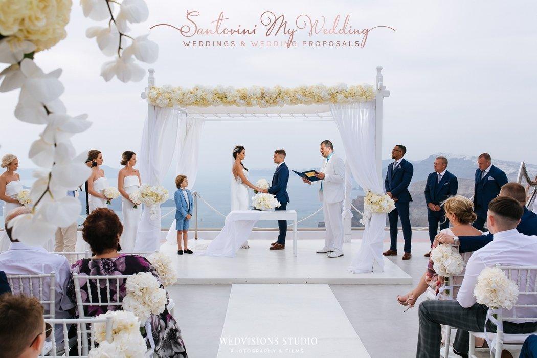 SantoriniMyWedding | santorini gem wedding package