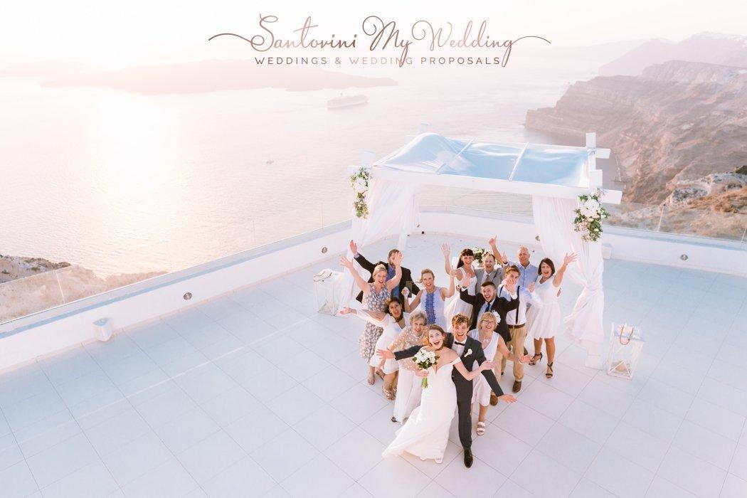 Santo Wines winery Santorini Wedding 1