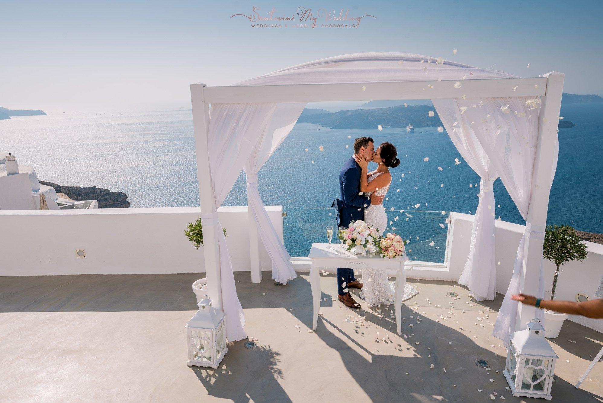 SantoriniMyWedding | santa irene wedding package