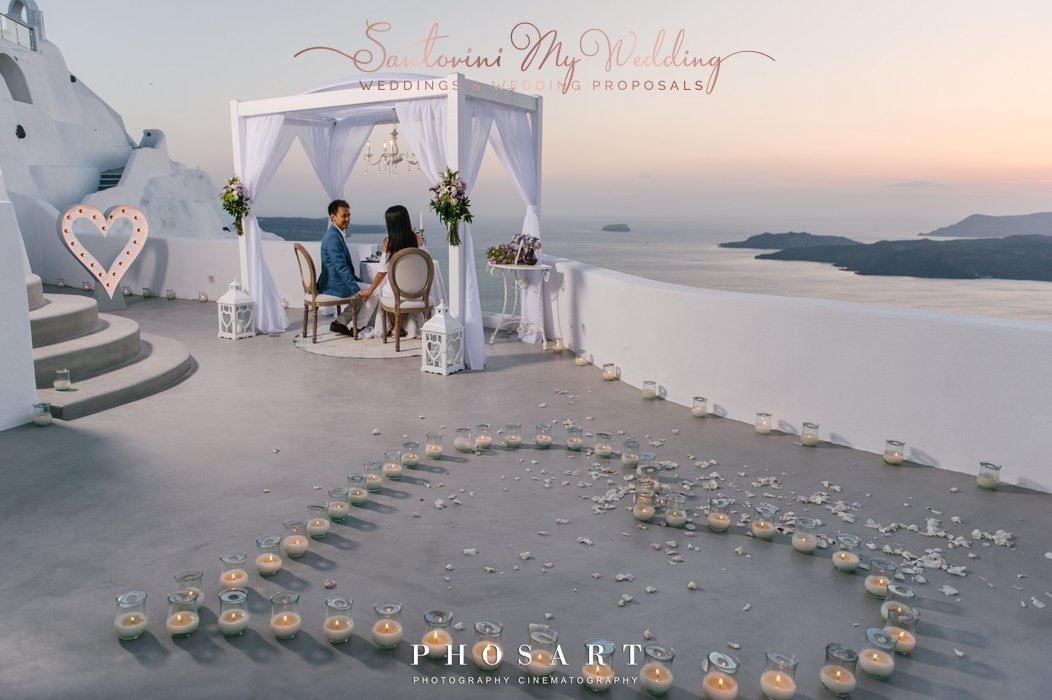 Pure LOVE in Santorini 1