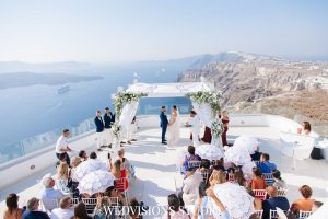 Santorini with a Stunning Inspirational Wedding!! Nicola & Jake 15