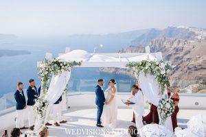 Santorini with a Stunning Inspirational Wedding!! Nicola & Jake 9