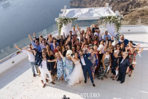 Santorini with a Stunning Inspirational Wedding!! Nicola & Jake 16