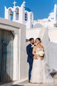 Santorini with a Stunning Inspirational Wedding!! Nicola & Jake 13