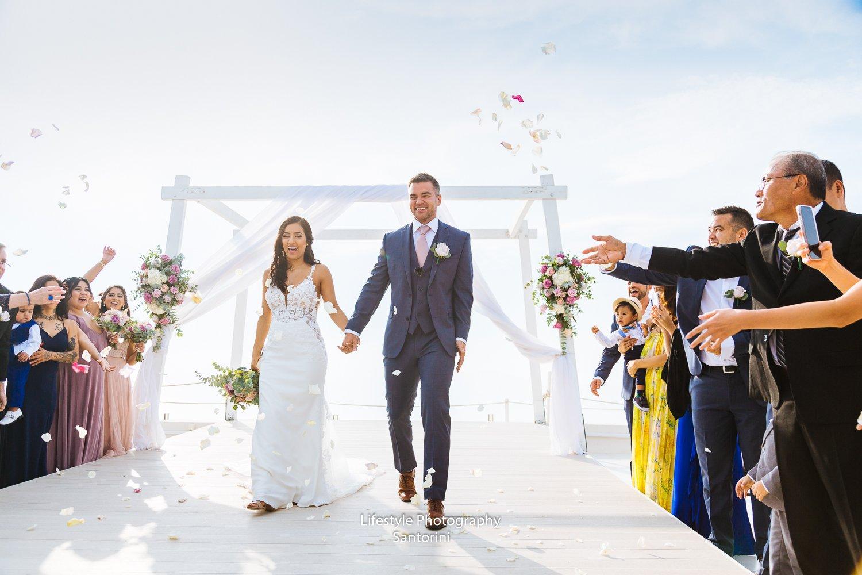 La Maltese Estate Santorini Wedding 1