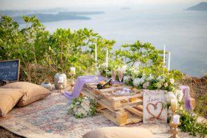 Planning a wedding Proposal in Santorini 6