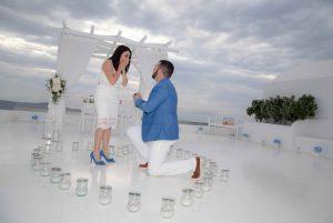 Planning a wedding Proposal in Santorini 5