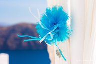 Light blue & White wedding in Santorini!   Loredana & Vladimir 10