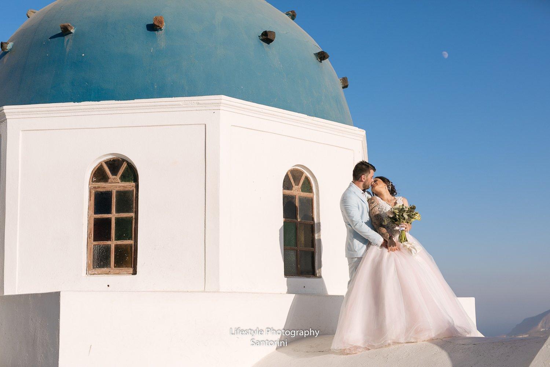 Anastaseos Church Santorini Wedding 1