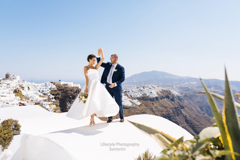 santorini weddings | santorini wedding