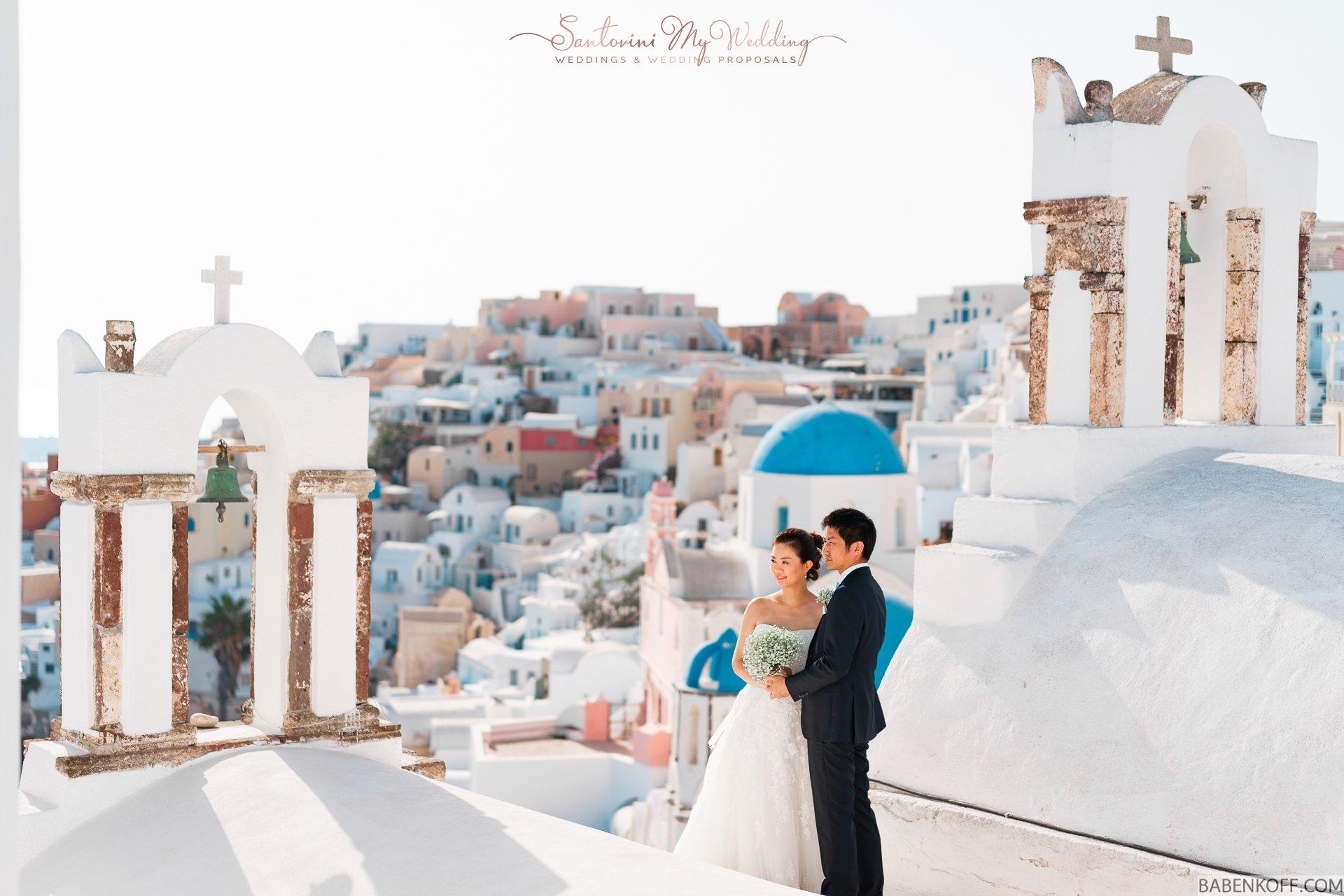 Aspaki Hotel Santorini Wedding 1