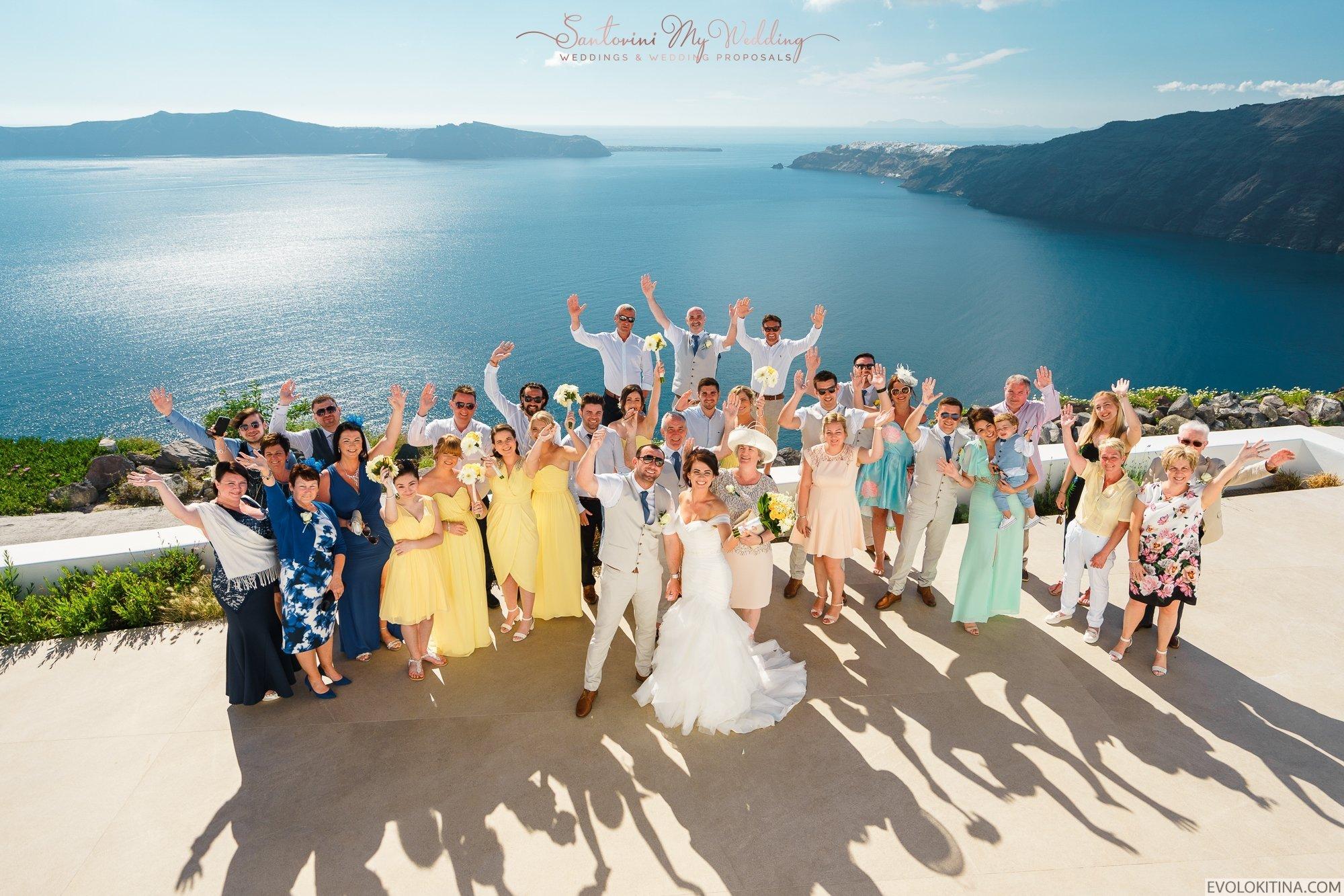 santorini weddings | santorini wedding packages with guests
