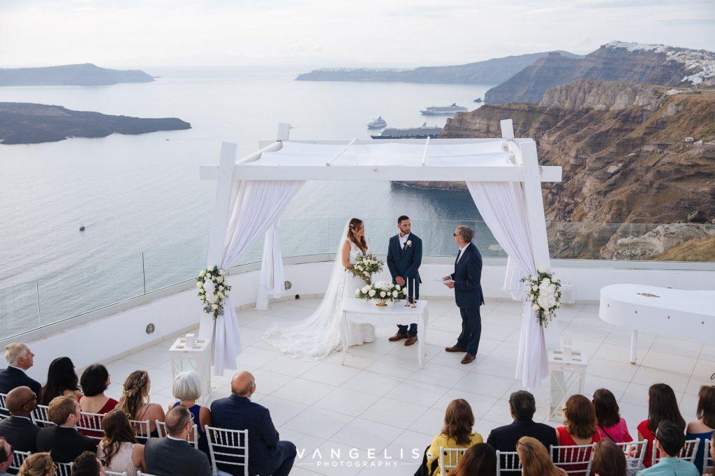 Santorini destination wedding the 1 and only destination! Pure, loving, heartfelt, warm and unforgettable! 2