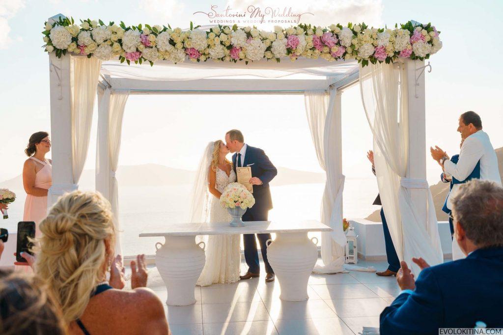 SantoriniMyWedding | Dana Villas Santorini Wedding
